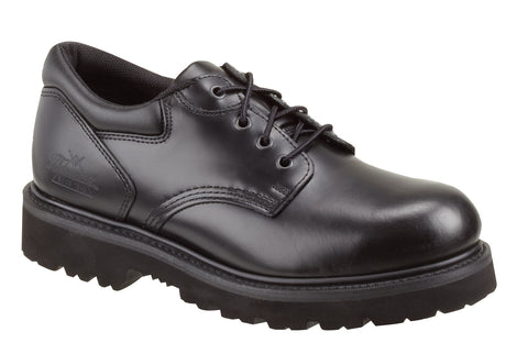 Thorogood Mens Black Leather Classic Safety Toe Academy Oxford