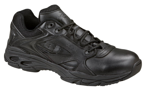 Thorogood Mens Athletic Black Leather Slip Resistant Safety Toe Oxford