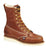 Thorogood Mens Wedges Brown Leather Non-Safety Boots 8in Moc Toe