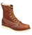 Thorogood Mens Wedges Brown Leather Non-Safety Boots 8in Plain Toe