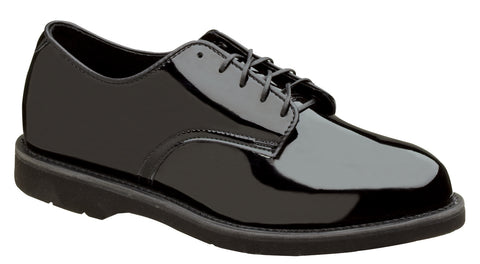 Thorogood Mens Uniform Black High Gloss Poromeric Classic Oxford