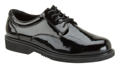 Thorogood Mens Uniform Black Poromeric Super Shoe Academy Oxford