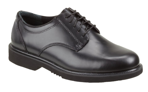 Thorogood Mens Black Leather Classic Academy Oxford