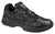 Thorogood Mens Athletic Black Leather Slip-Resisting Shoes Oxford