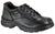 Thorogood Mens Softstreets Black Leather Shoes Double Track Oxford