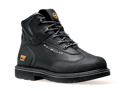 Timberland Pro 6In Int Met Guard Mens Black Leather Work Boots Ever-Guard