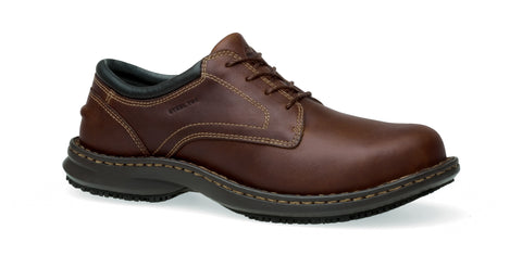 Timberland Pro Gladstone ESD Mens Brown Leather Work Shoes Lace-Up