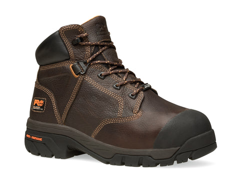 Timberland Pro 6In Helix Internal Met Guard Mens Brown Leather Work Boots