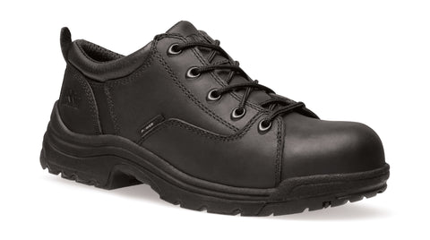 Timberland Pro TiTAN Oxford Safety Toe Womens Black Leather Work Shoes