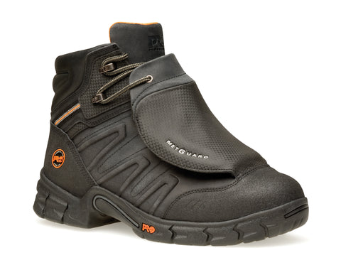 Timberland Pro 6In Excave Met Guard Mens Black Leather Work Boots