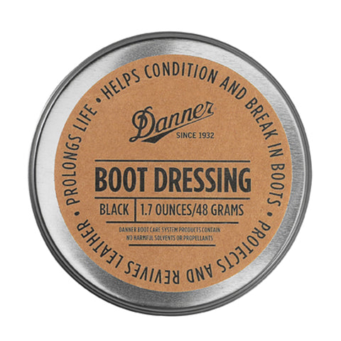 Danner Dressing Unisex Black Water Resistant Boot Care 97111
