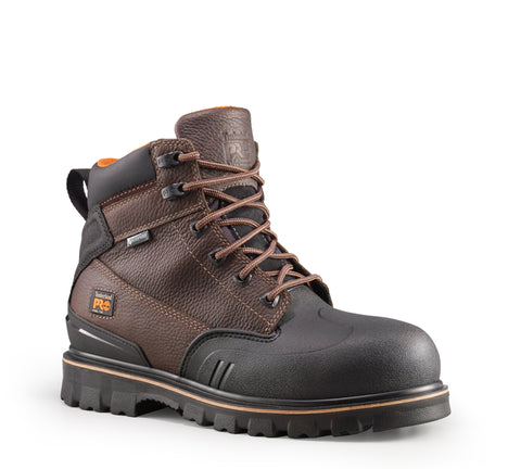 Timberland Pro 6In Power Welt ST WP Mens Brown Leather Work Boots