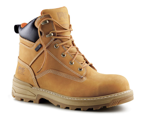 Timberland Pro 6in Resistor Comp Ins CM Mens Wheat Leather Work Boots
