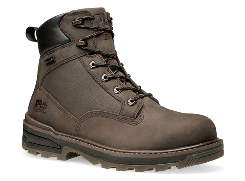 Timberland Pro 6in Resistor Comp WP CM Mens Brown Leather Work Boots
