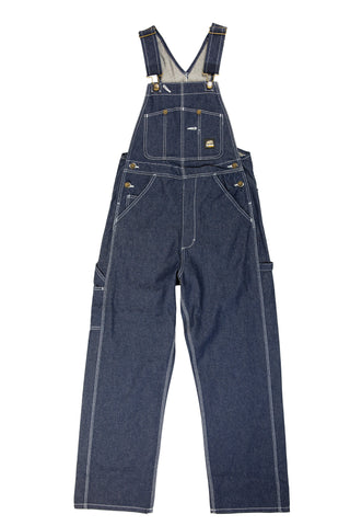 Berne Mens Denim 100% Cotton Unlined Bib Overall