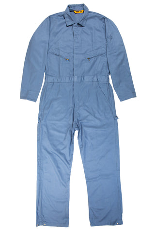 Berne Mens Postman Blue 100% Cotton Deluxe Unlined Coverall