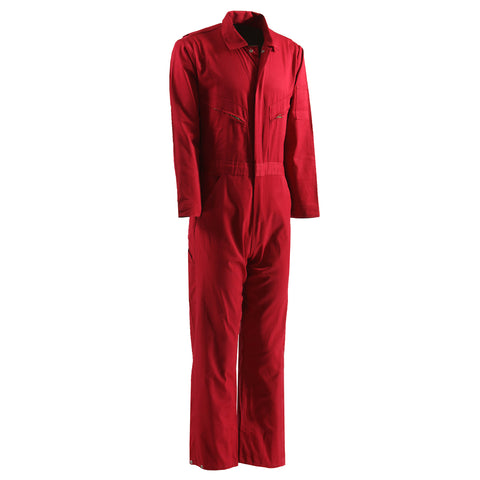 Berne Mens Red 100% Cotton Deluxe Unlined Coverall