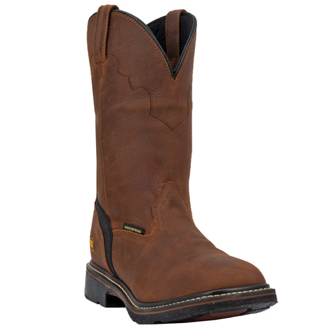 Dan Post Mens Lubbock St Work Boots Leather Copper