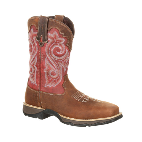 Durango Womens Briar/Rusty Leather Lady Rebel CT Work Boots