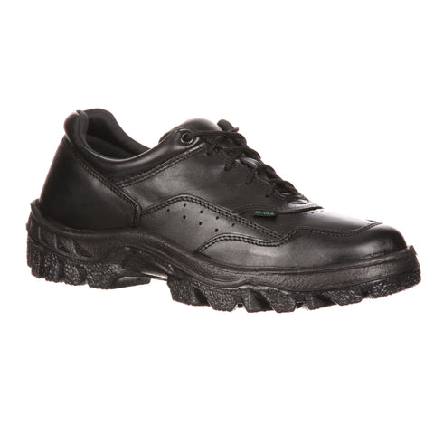 Rocky TMC Mens Black Leather Oxfords Postal-Approved Duty Shoes