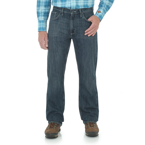 Wrangler Mens WD Wash Cotton Blend FR Twenty X Jeans