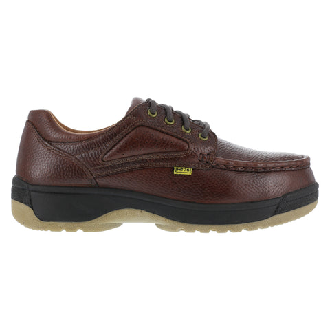 Florsheim Womens Brown Leather Met Guard Oxfords Compadre Steel Toe
