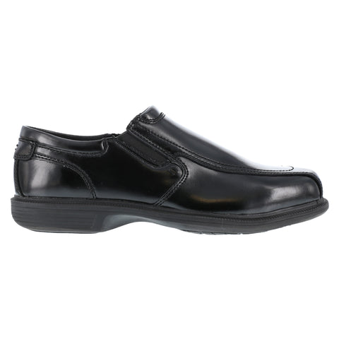 Florsheim Mens Black Leather Dress Slip On Loafer Coronis Steel Toe