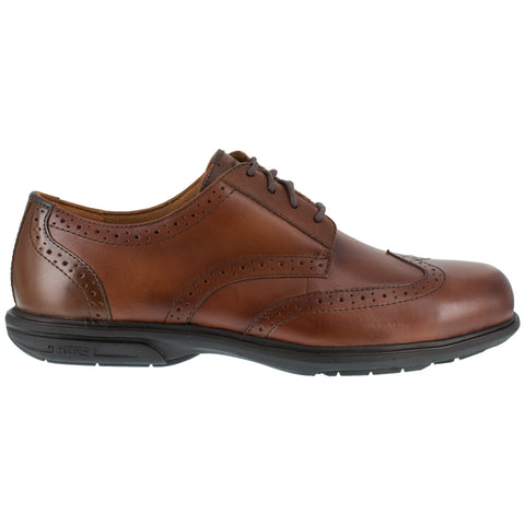 Florsheim Mens Brown Leather Oxfords Loedin ST Wingtip
