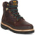 Georgia Giant Mens Soggy Brown Leather 6in Steel Toe Ankle Work Boots