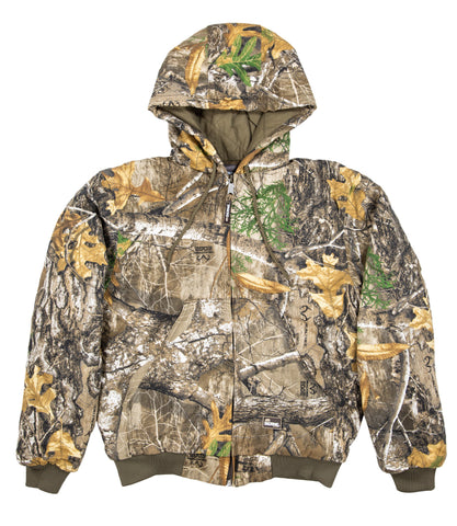 Berne Mens Realtree Edge 100% Cotton Deerslayer Jacket
