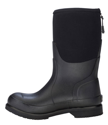 Dryshod Gurley Work Boot Mid Womens Foam Black/Grey Work Boots