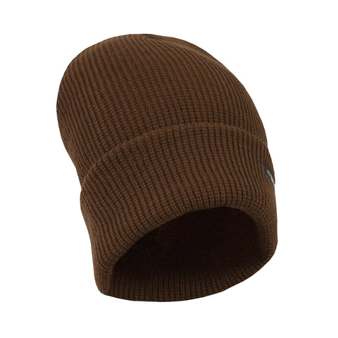 Berne Mens Brown Duck Acrylic Lined Knit Cuff Cap