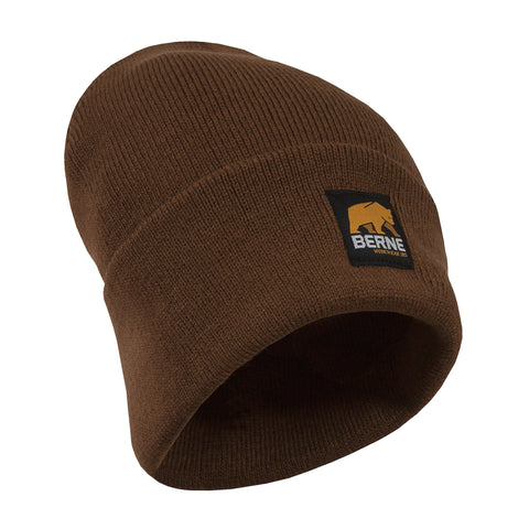 Berne Mens Brown Duck Acrylic Knit Cap
