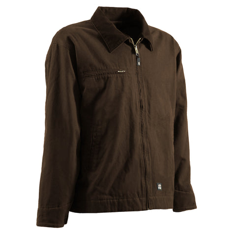 Berne Mens Bark 100% Cotton Gasoline Jacket