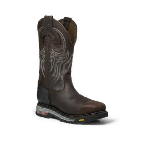 Justin PR WP EH Mens Gibraltar Warhawk Leather Work Boots