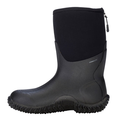 Dryshod Legend Mid Mens Foam Black/Neon Work Boots