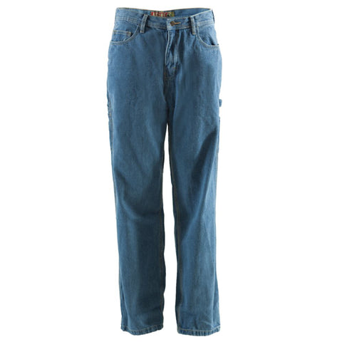 Berne Mens Stonewash Weathered 100% Cotton Original Carpenter Jean