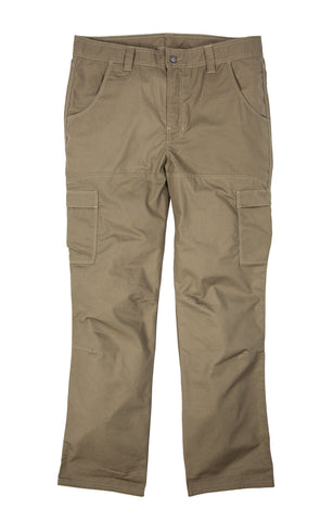Berne Mens Putty Cotton Blend Ripstop Cargo Pants