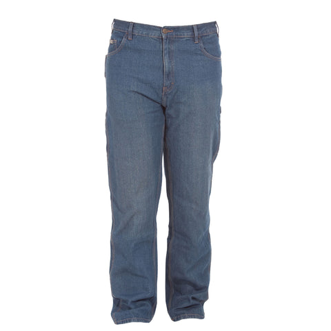 Berne Mens Stone Wash Dark 100% Cotton Classic Carpenter Jean
