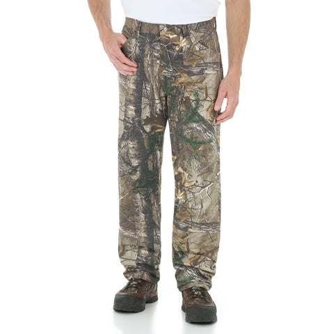 Wrangler Mens Realtree AP Xtra 100% Cotton Relaxed Jeans