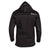 Stormr Mens Surf Top Black Neoprene Core Fleece Hooded Waterproof