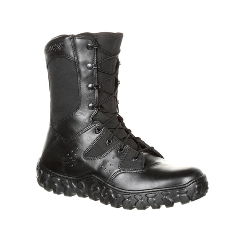 Rocky Unisex Black Leather S2V Predator Military Boots