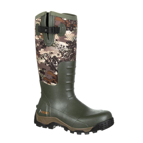 Rocky Mens Venator Rubber Sport Pro WP Outdoor Hunting Boots