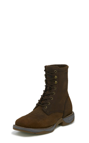 Tony Lama 8in EH 3R Mens Sierra Tova Leather Work Boots