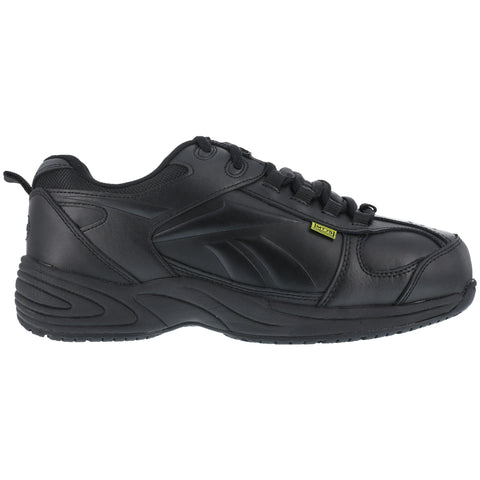 Reebok Mens Black Leather Street Sport Met Guard Centose Composite Toe