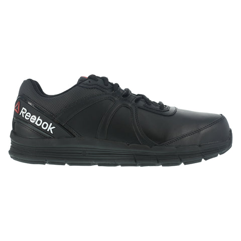 Reebok Womens Black Leather Work Shoes ST Oxford Guide