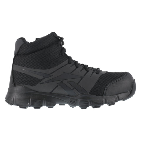 Reebok Mens Black Micro Mesh Seamless Tactical Boots Dauntless Soft Toe