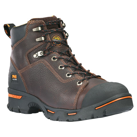 Timberland Pro 6In Endurance Soft Toe SP Mens Brown Leather Work Boots