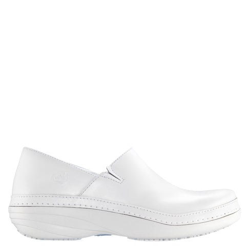Timberland Pro Renova Slip-On Womens White Leather Work Shoes