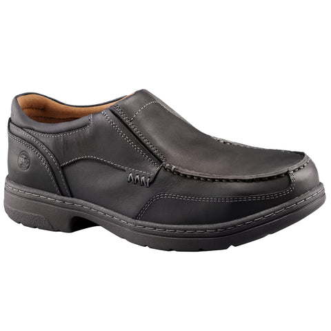 Timberland Pro Branson ESD Mens Black Leather Slip-On AT Work Shoes